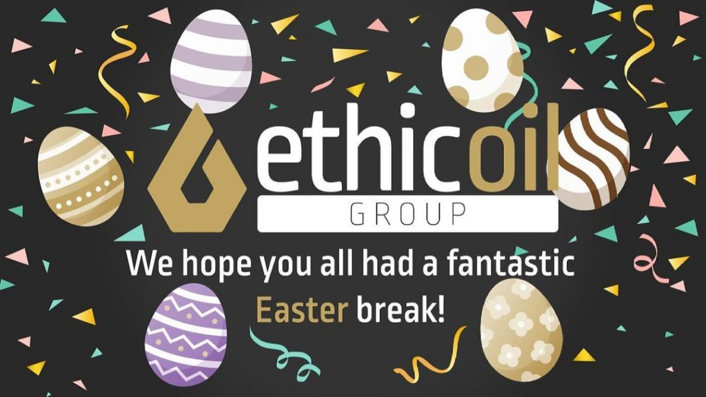 Happy Easter Break 2021 ethicoil group resh oil cooking waste oil collection and delivery suffolk eco friendly business
